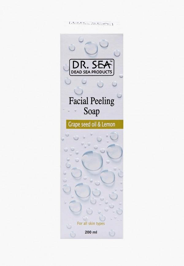 Купить Мыло для лица Dr. Sea, с маслом виноградных косточек и экстрактом лимона, 200 мл, dr017lwbiwg7, белый, Весна-лето 2019