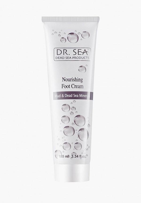 питательный крем для ног dr. sea