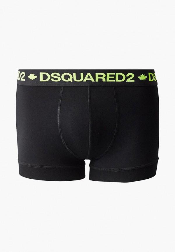 мужские трусы-боксеры dsquared underwear, черные