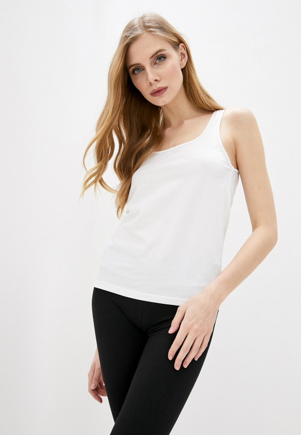 женская майка dsquared underwear, белая