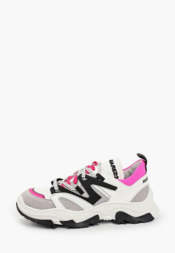 кроссовки dsquared2 для девочки, белые