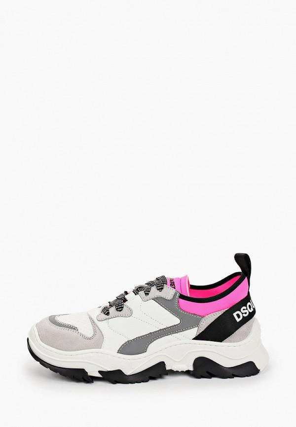 кроссовки dsquared2 для девочки, серые