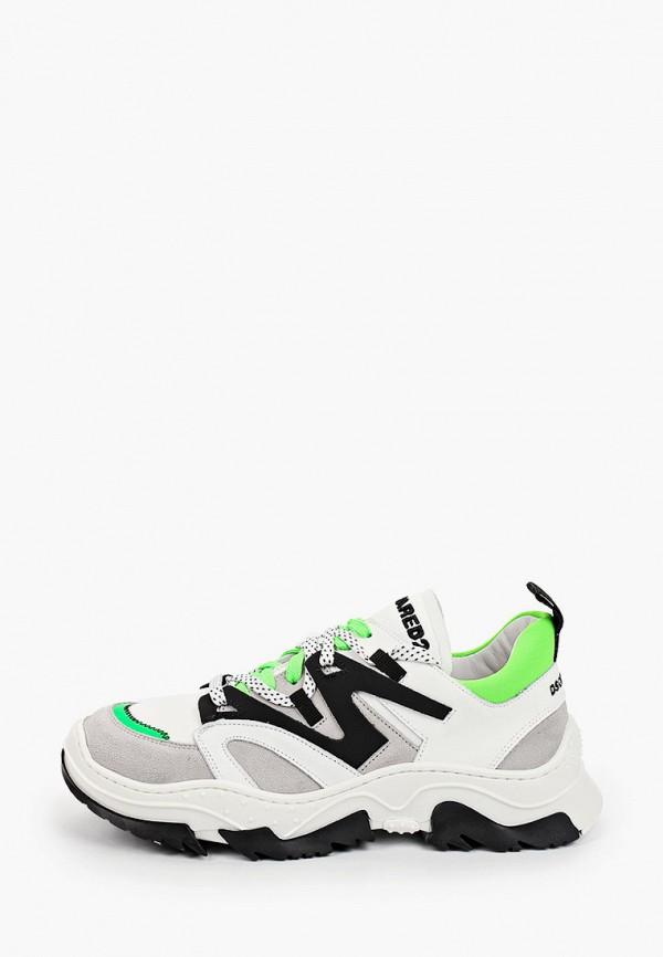 кроссовки dsquared2 малыши, белые