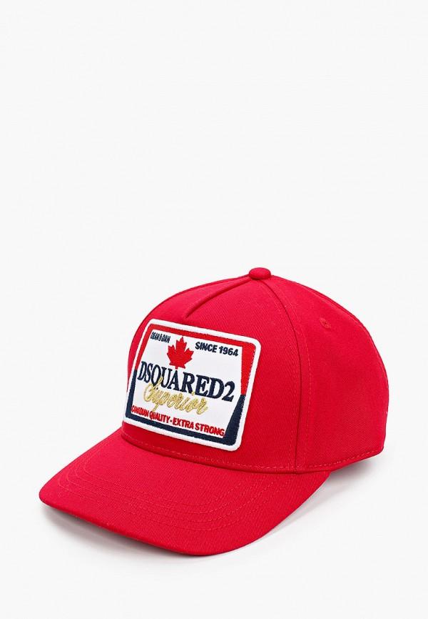 Бейсболка Dsquared2 Dsquared2 DQ04AC красный фото