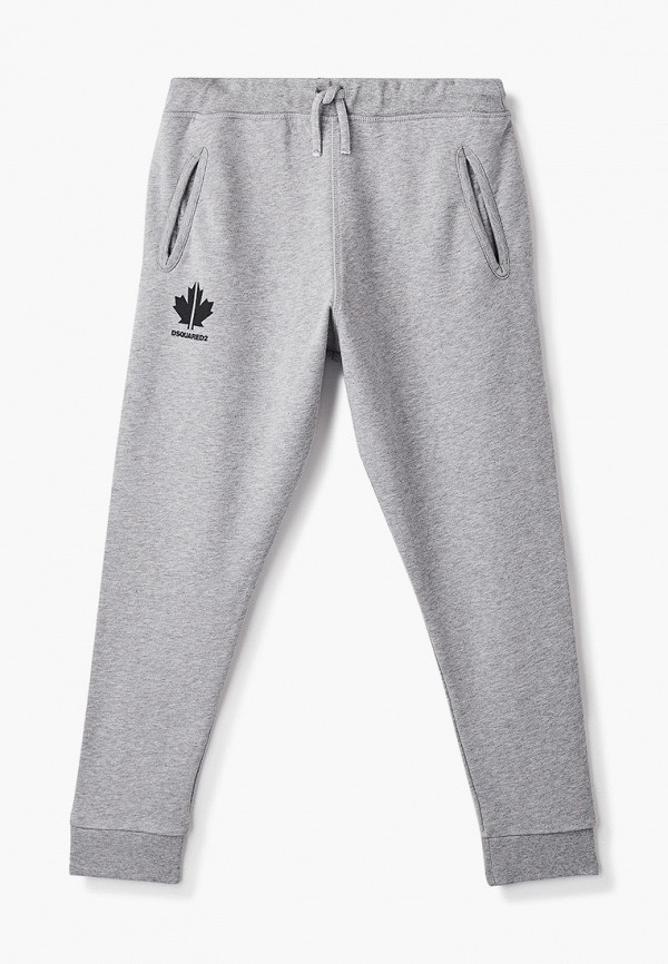 спортивные брюки dsquared2 для мальчика, серые