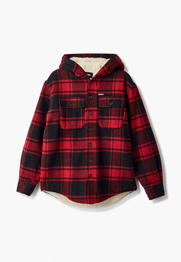 куртка dsquared2 для мальчика, красная