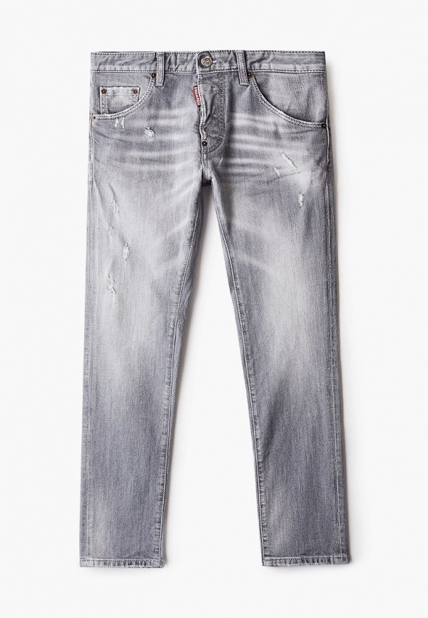джинсы dsquared2 для мальчика, серые