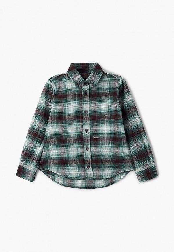 рубашка dsquared2 для мальчика, зеленая