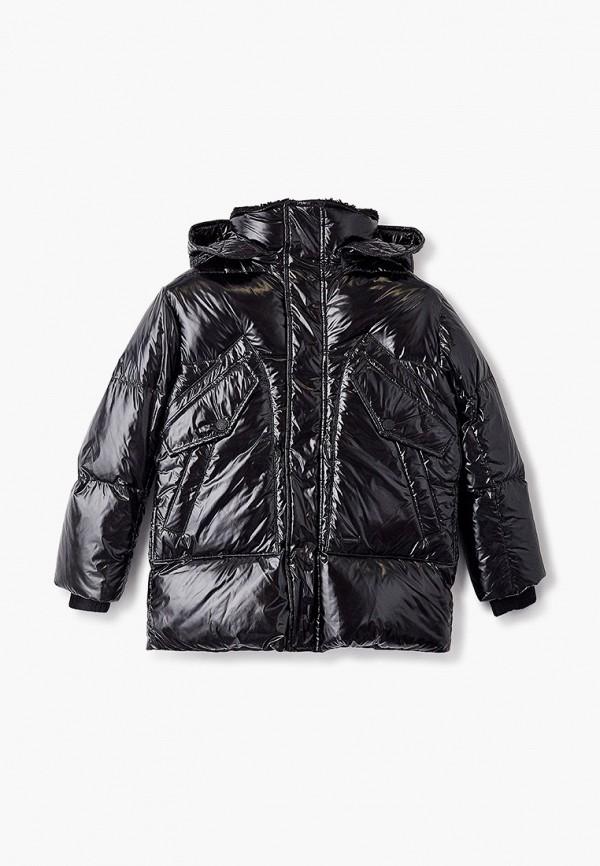 куртка dsquared2 для мальчика, черная
