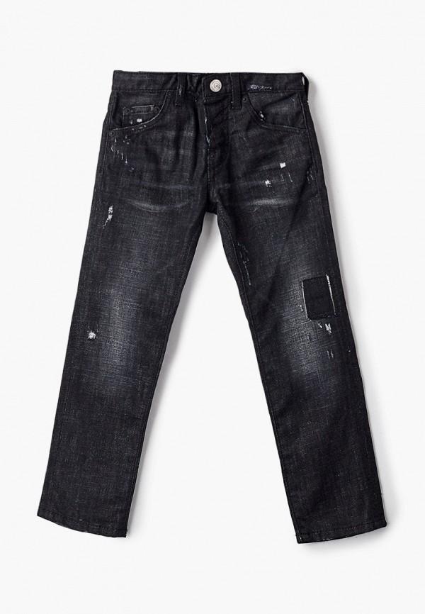 джинсы dsquared2 для мальчика, черные