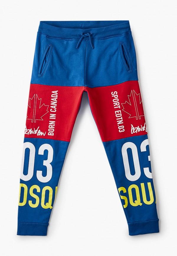спортивные брюки dsquared2 для мальчика, синие