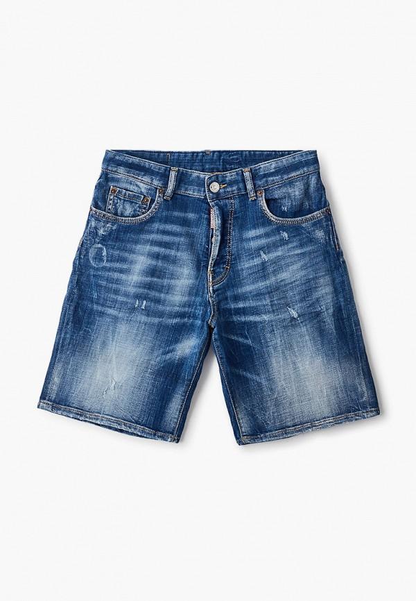 джинсовые шорты dsquared2 для мальчика, синие