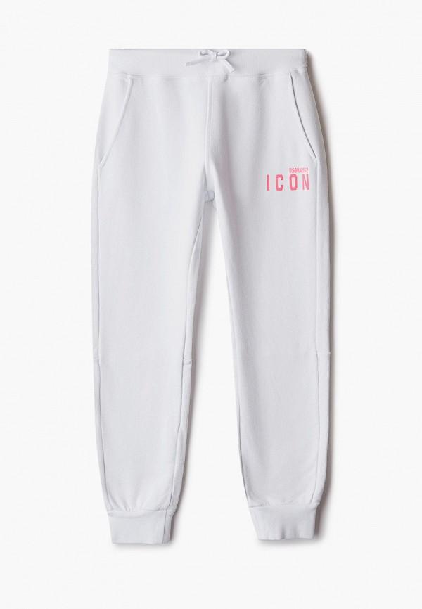спортивные брюки dsquared2 для девочки, белые