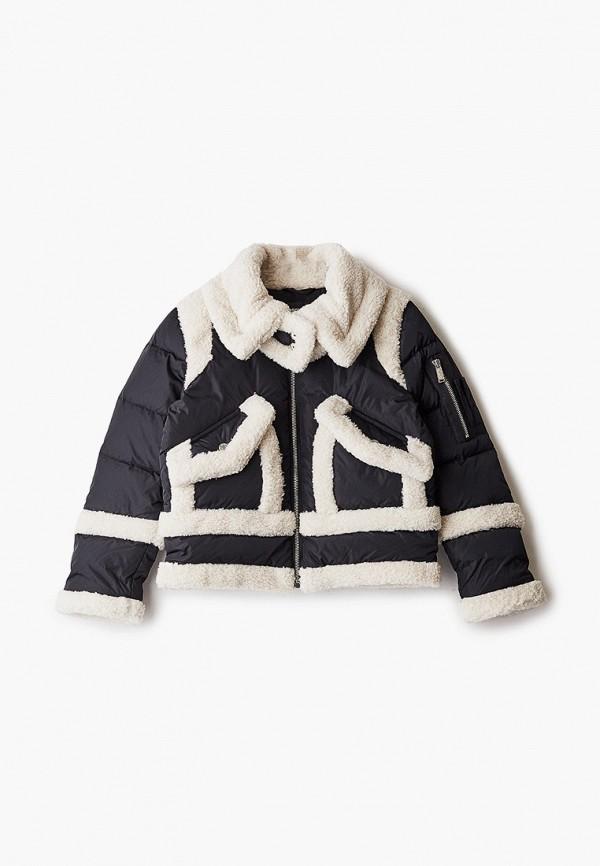 куртка dsquared2 для девочки, черная