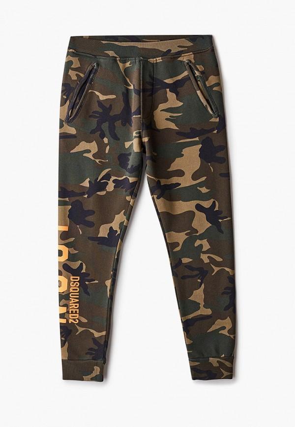 спортивные брюки dsquared2 малыши, хаки