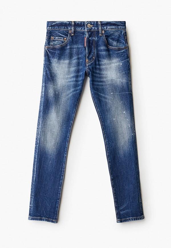 джинсы dsquared2 для мальчика, синие