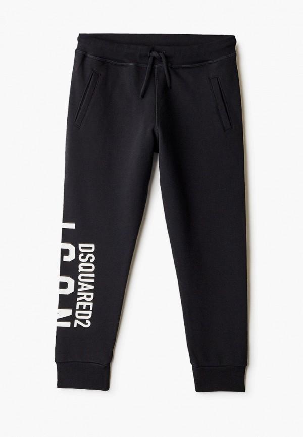 спортивные брюки dsquared2 для мальчика, черные