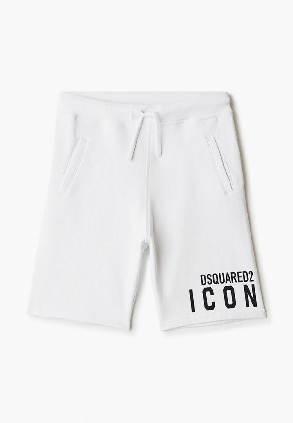шорты dsquared2 для мальчика, белые