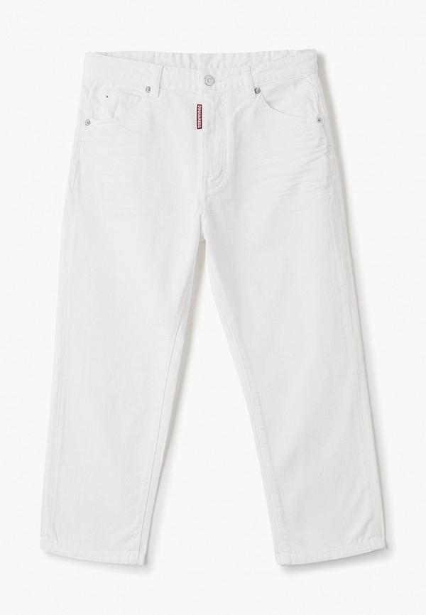 джинсы dsquared2 для девочки, белые