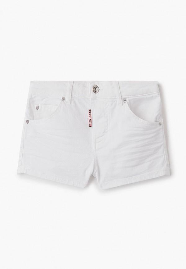 шорты dsquared2 для девочки, белые