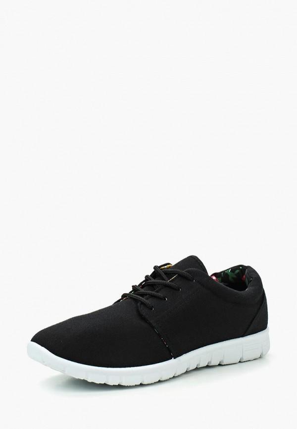 Фото - женские кроссовки D.T. New York черного цвета