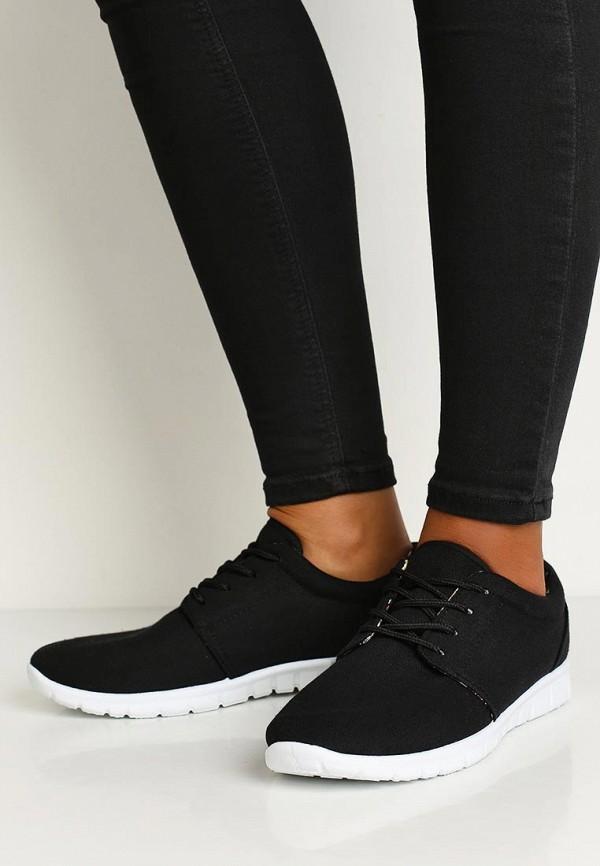 Фото 5 - женские кроссовки D.T. New York черного цвета