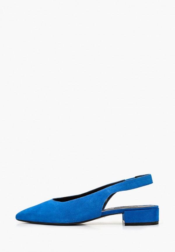 женские туфли dune, синие