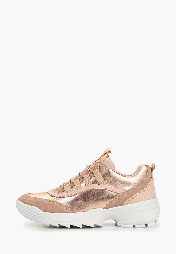 женские кроссовки dune, золотые
