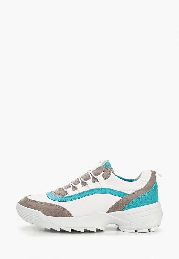 женские кроссовки dune, белые