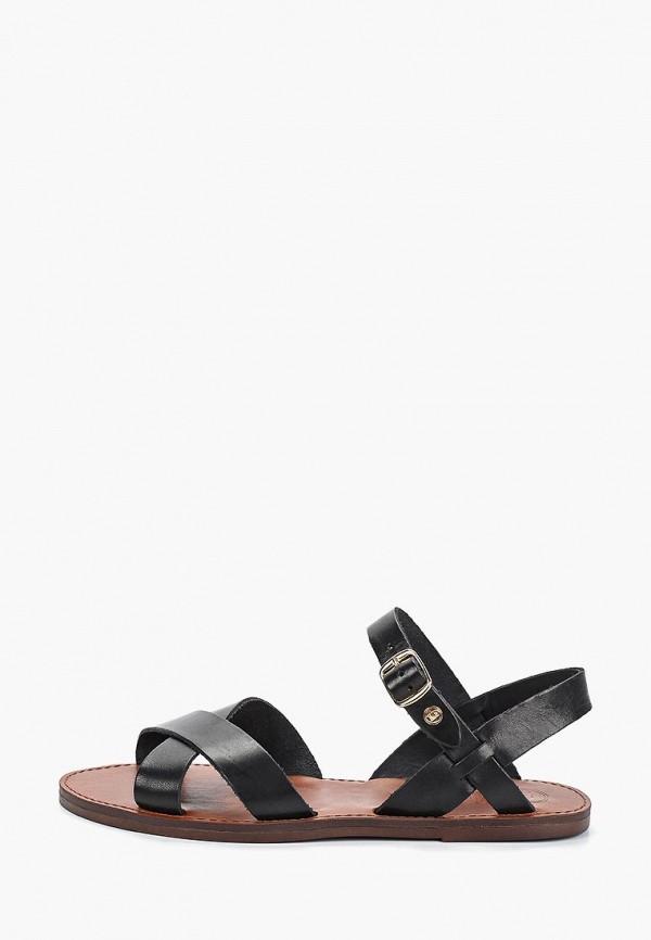 Купить Сандалии Dune, du001awealv7, черный, Весна-лето 2019