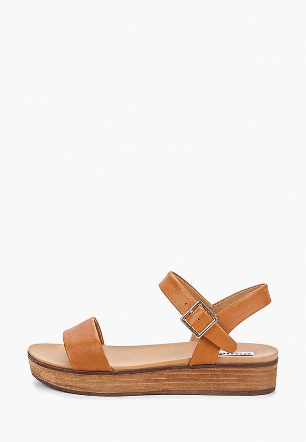 женские сандалии dune, коричневые