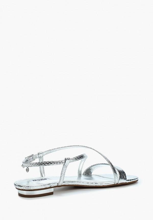 Фото 2 - женские сандали Dune серебрянного цвета
