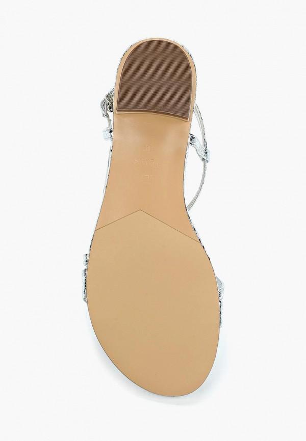 Фото 3 - женские сандали Dune серебрянного цвета