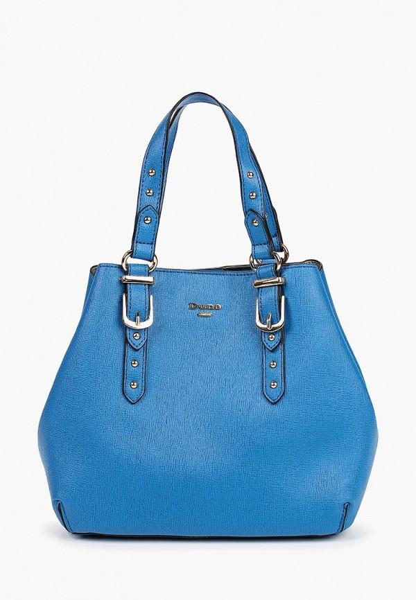 женская сумка dune, синяя