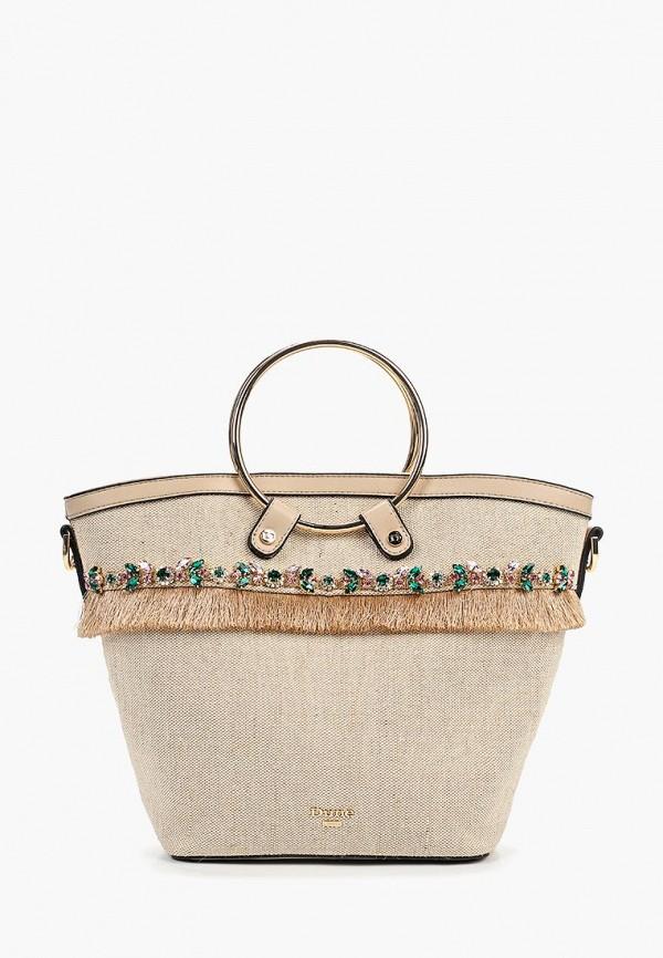 женская сумка dune, бежевая