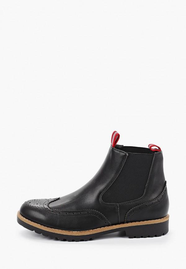 мужские ботинки duca di morrone, черные