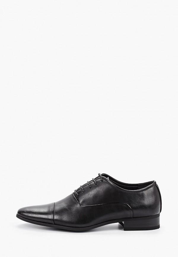 мужские туфли duca di morrone, черные