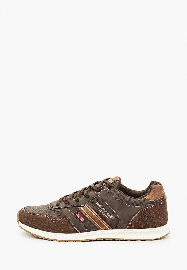 мужские кроссовки dunlop, коричневые