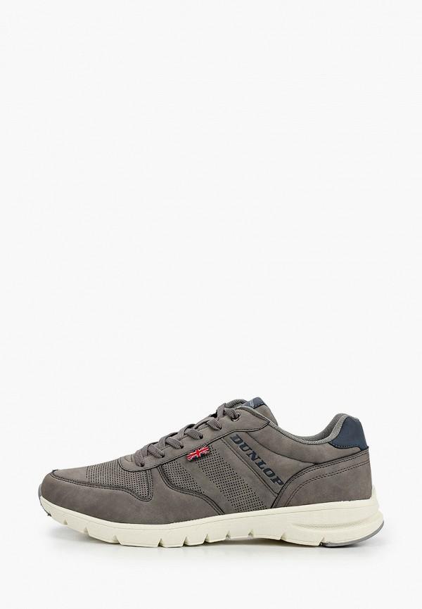 мужские кроссовки dunlop, серые