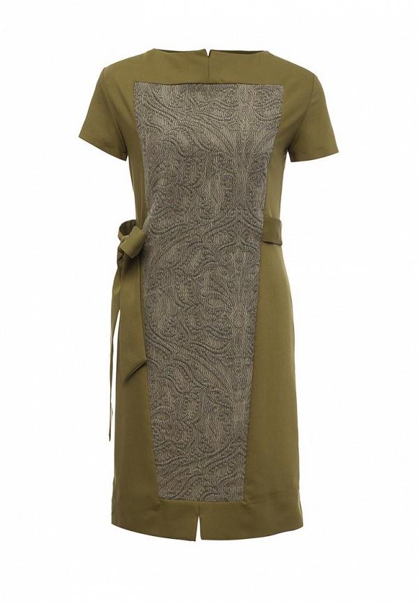 Купить Платье D.VA, DV003EWMHX83, хаки, Осень-зима 2016/2017