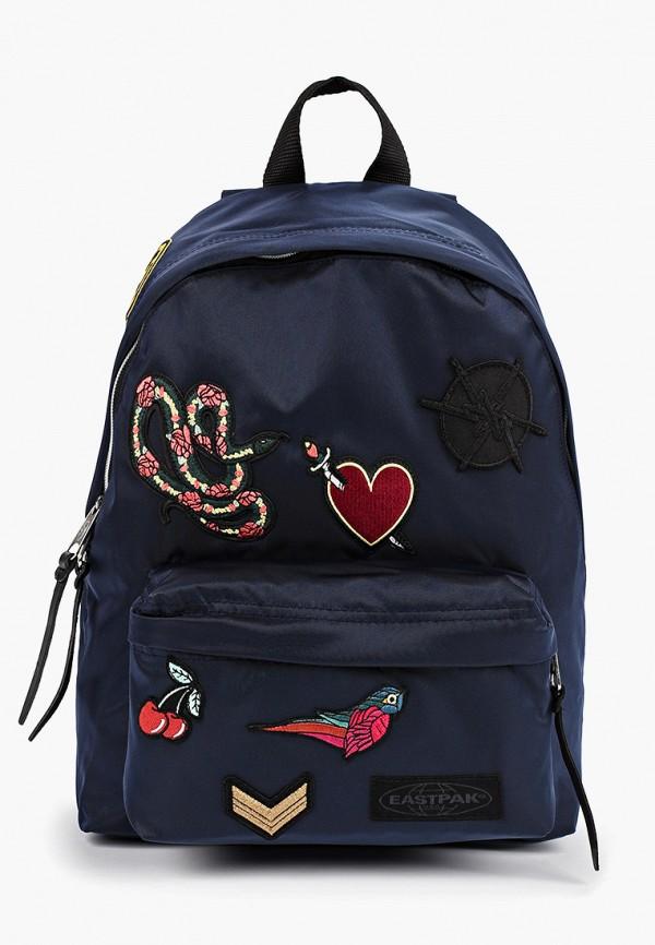 Фото - женский рюкзак Eastpak синего цвета