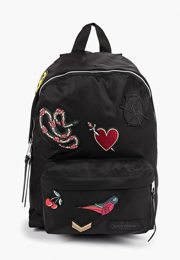Фото - женский рюкзак Eastpak черного цвета