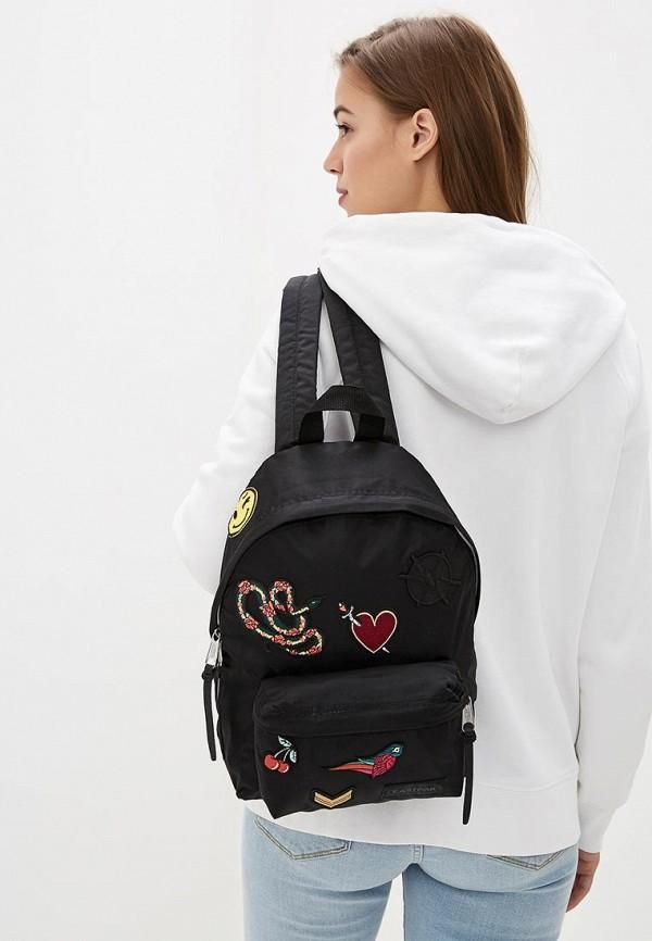 Фото 4 - женский рюкзак Eastpak черного цвета