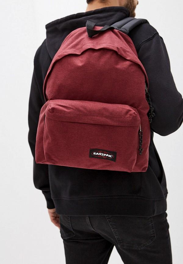 Фото 5 - мужской рюкзак Eastpak бордового цвета
