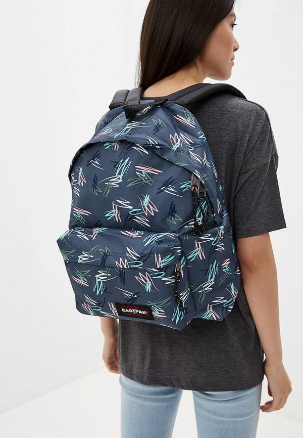Фото 4 - мужской рюкзак Eastpak серого цвета