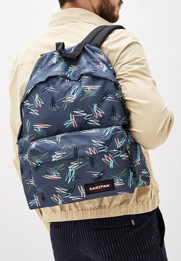 Фото 5 - мужской рюкзак Eastpak серого цвета