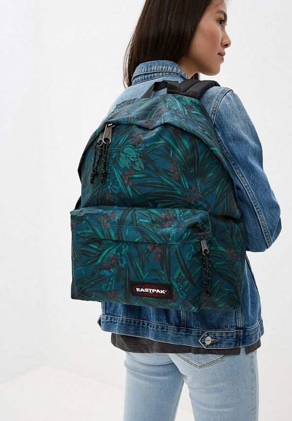 Фото 4 - мужской рюкзак Eastpak зеленого цвета