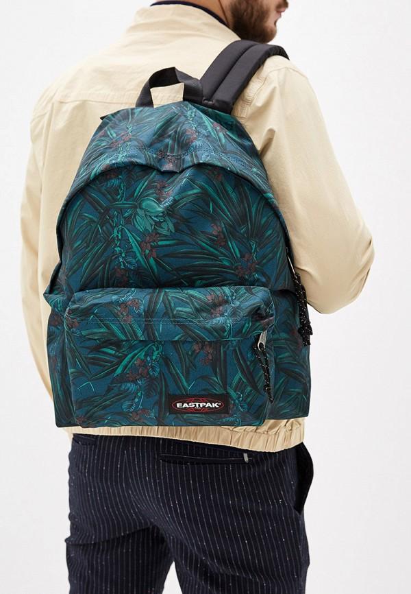 Фото 5 - мужской рюкзак Eastpak зеленого цвета