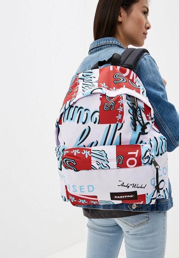 Фото 4 - мужской рюкзак Eastpak розового цвета