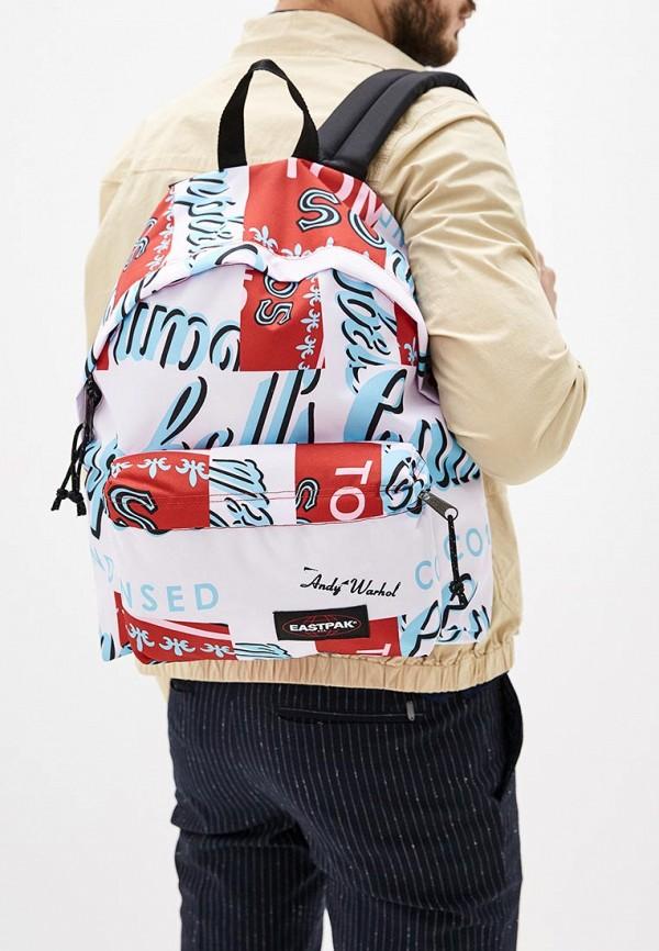 Фото 5 - мужской рюкзак Eastpak розового цвета